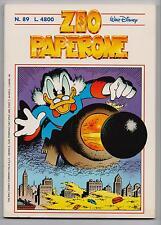 Carl Barks Don Rosa ZIO PAPERONE N. 89 Walt Disney Company Italia 1997 originale