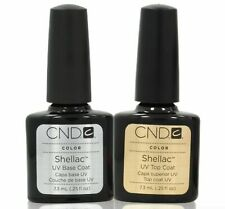 CND Shellac Base und Top coat Made in the USA UV LED Gel Lack Nail Top Qualität