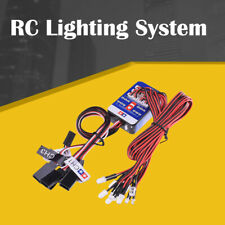 RC Lighting System 12 LED Steering Brake Simulation Lights For 1/10 Drift RC Car