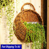 Wall Hanging Flower Planter Basket Garden Outdoor Indoor Holder Home Decor