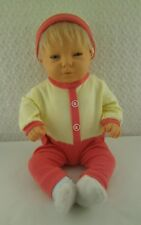 "Doll Clothes Handmade Yellow Sleeper with Hat Fits 16""-18"" Doll"