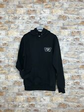 VINTAGE RETRO BLACK VANS OFF THE WALL SWEATSHIRT SWEATER HOODIE MENS SMALL