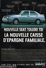 Publicité advertising 1996 Seat Toledo TDi