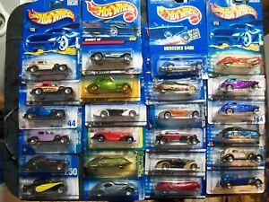Hot Wheels Lot of 24 Cadillac Bugatti 31 Doozie Auburn Cord Talbot Corsair  #16