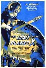 Man From Planet X Poster 06 A2 Box Canvas Print