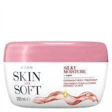 AVON SSS Skin So Soft SILKY MOISTURE Intensive Körperpflege für die Nacht 200ml