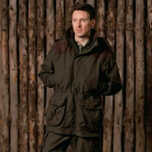 Sherwood Forest Mens Hardwick Hunting Jacket,Lightweight Waterproof & Breathable