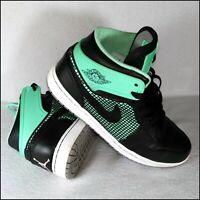 Nike Air Jordan 1 Retro '89 | Black/Green Glow | UK9/US10 | Rare