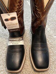 Ariat 10038371 - Men's - Rawly Ultra Western Boot - Dark Soil - 11D