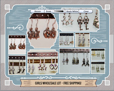 36Pcs! High Quality Dangle Earrings All Hypo Allergenic - 18 Pairs: Girls Lot!