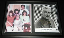 Richard Mulligan Empty Nest Signed Framed 12x18 Photo Set