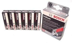 BOSCH IRIDIUM Spark Plugs FR8LII33X 9651 Set of 6