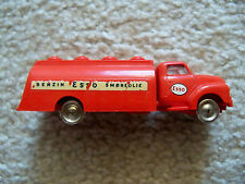 LEGO HO 1:87 Vehicles - Vintage Super Rare Red Bedford ESSO Tank Truck