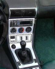 BMW Z3 Z-3 e37 e36 INTERIOR BRUSHED ALUMINUM DASH TRIM KIT SET 96 1997 1998 1999