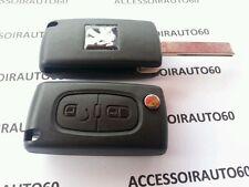 Coque cle BOITIER Télécommande Peugeot 207*307*308* PARTNER* REF: CE0536