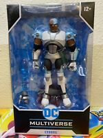 McFarlane DC Multiverse Cyborg Teen Titans Action Figure IN HAND new