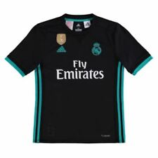 Camisetas de fútbol negro para niños adidas