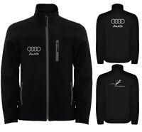 Audi Softshell Jacket Travel Parka Coat Veste Outdoor Blouson Chaqueta Giacca