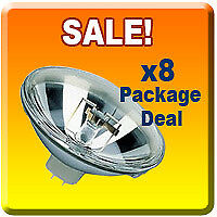 8x Stage DJ 300 PAR 56 MFL Light Bulb 300W PAR56 Lamp