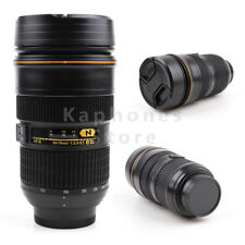 Camera Lens Mug 1:1 Nikon AF-S 24-70mm f/2.8G Thermos Tea Water Liner Coffee Cup