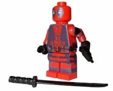 **NEW** LEGO Custom Printed - DEADPOOL - Marvel Universe Minifigure