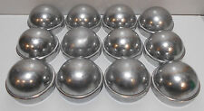 "Lot of 12 New Chain Link Fence Post Dome Caps 2 3/8"" 2 1/2"" Die Cast Aluminum"