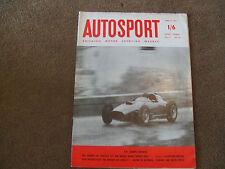 Autosport 12 April 1957 Syracuse GP Morgan 4/4 Series II British Empire Trophy