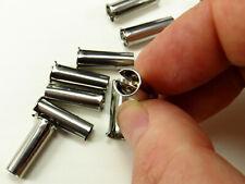 More details for dip pen insert - rust resistant stainless steel metal dip pen ferrule for nibs
