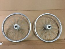 Araya Rims W/ Haro Mega Hubs Wheels Wheel Set Old Mid School BMX 48h 14mm