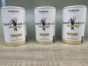 Foodspring 3x Shape Shake 2.0 Vanille je 420g NEU