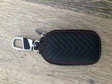 Car Keychain Genuine Leather Zipper Case.