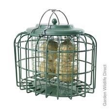 The Nuttery Feedsafe Squirrel Proof Resistant Oval Fat Ball Feeder for Wild Bird