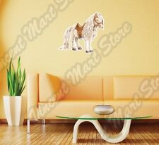 "White Cute Horse Fairy Tail Princess Wall Sticker Interior Decor 22""X22"""