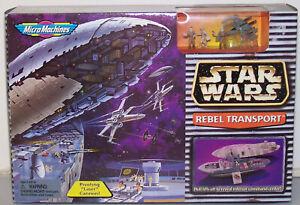 Star Wars Micro Machines Rebel Transport Playset Galoob 1997 New Sealed