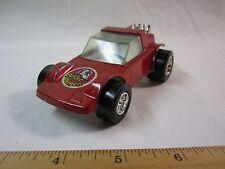 VIntage Tootsie Toy Super Slicks Panzer Wagen Race Car German Nazi Helmet on it!