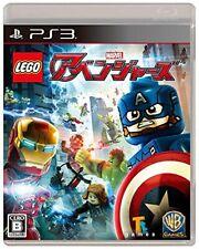 Gebraucht PS3 PLAYSTATION 3 Lego Marvel Avengers PS3 Esever 40863 Japan Import