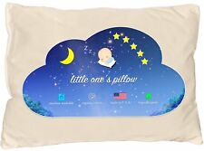 Little One's Pillow - Toddler Pillow, Delicate Organic Cotton Shell, HandCrafted