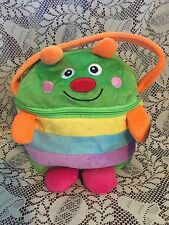CATERPILLER Colorful Lunch Pack Mates Fabric Lunch Bag Thermal Lining NEW KELLY