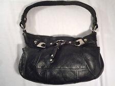 B. Makowsky Black pebbled leather shoulder Handbag, Excellent condition