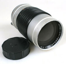 135MM F2.8 LENS FOR MINOLTA MD MOUNT W/ REAR CAP