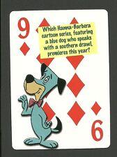 The Huckleberry Hound Show Hanna Barbera TV Cartoon Neat Playing Card #8Y5