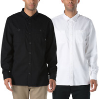 Vans Off The Wall Men's Langham L/S Woven Shirt (Retail $55)