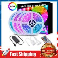 65.6FT LED Strip Lights 5050 RGB SMD Color Changing LED 600 LEDs Flexible Tape