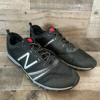 New Balance Minimus Vibram MT20BK2 Meta Support Black Running Shoes Mens 10.5D