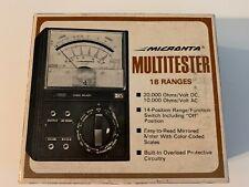 Vintage Micronta 18-range Battery Tester. Free Shipping!