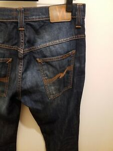 MENS JEANS NUDIE  TAPE TED SIZE 33 LEG 32