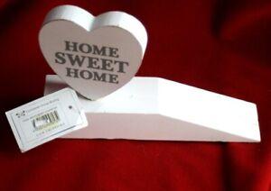 Door stopper.Wood.  Home sweet home0, New,