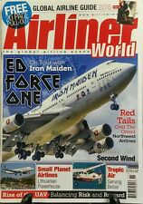 Airliner World Nov 2016 Ed Force One On Tour With Iron Maiden FREE SHIPPING sb