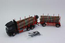 Conrad  78183 01 Mercedes BENZ Arocs mit Doll Kurzholzzug  Palfinger Kran 1:50