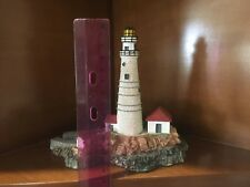 "1992 Danbury Mint-Historic American Lighthouses, "" Boston Light Lighthouse """